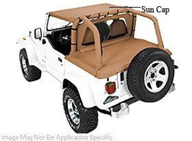 Awesome Pavement End Bikini Top For 1987   1991 Jeep Wrangler