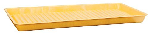 Eagle 1677 HDPE Containment Utility Tray, 36 Length x 18 Width x 2 Height by Eagle