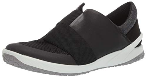 ECCO Women's Biom Life Slip On Sneaker, Black, 37 M EU (6-6.5 US) (Kids Boots Ecco)