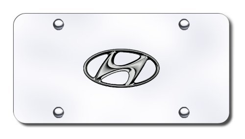 Hyundai License Plate - Hyundai Logo Front License Plate