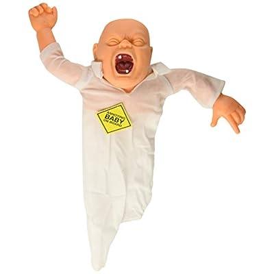 Forum Novelties Annoying Baby On Board Doll Gag Gift Joke Prank: Toys & Games