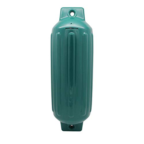 Extreme Max 3006.7554 BoatTector Inflatable Fender, Forest Green, 8.5'' x 27'' by Extreme Max