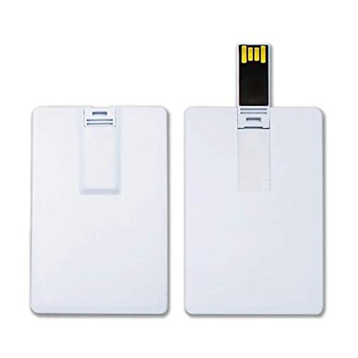 KEXIN Bulk Flash Drive 8G USB Business Card Credit Card Bank Card Shape Flash Drive Memory Stick Key Credit USB Drives… |