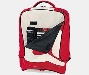 Aquip Laptop Rucksack College Tasche Wasserabweisen 17 rot HdidkXO