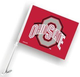 Ohio State Buckeyes Official NCAA Car Flag by Fremont Die 58