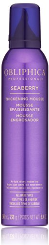 Obliphica Professional Seaberry Thickening Mousse, 8.4 oz. by Obliphica Professional