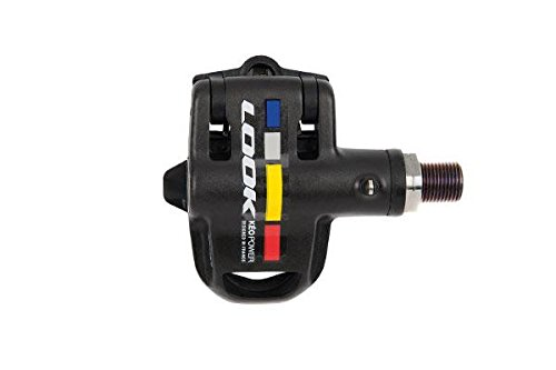 LookサイクルKeoデュアルモードEssential電源メーターペダル One Size ブラック B01EO4GF0G