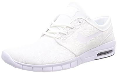 Nike Men's Stefan Janoski Max Dark Raisin/Volt/SailSneakers - MD (10-12 Big Kids) x One Size