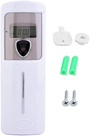 LCD-Anzeige Automatisches Timing Hotel Badezimmer Haushaltsduft Deodorant Sprayer Timer Aroma Duftspender Wandmontage...