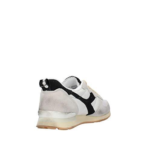 Sneaker Uomo Diadora Bianco nero Bianco Camaro qvPawC1