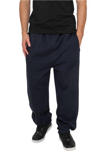 Urban Classics Umstand Pantalon de sport large pour femme Bleu - Bleu marine