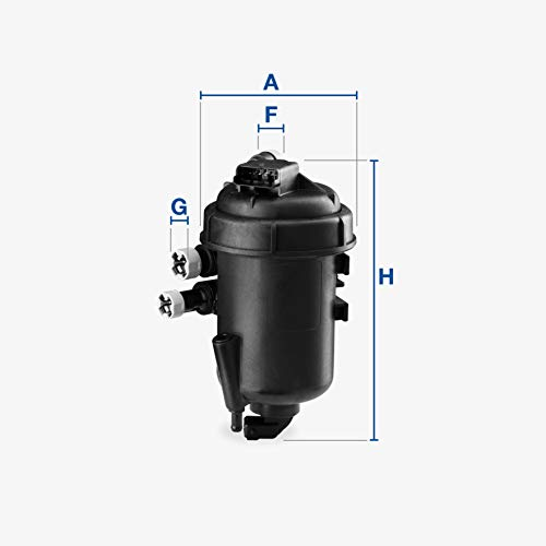 Ufi Filters 55.127.00 Fuel Filter With Housing: