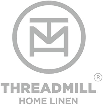 Threadmill Home Linen 500 Thread Count Deep Pocket Queen Sheet Sets - 100% ELS Cotton Sheets for Queen Size Bed with Deep Pocket, Luxury Hemstitch 4 Piece Bedding Set, Smooth 2CM Damask Stripe, Blue