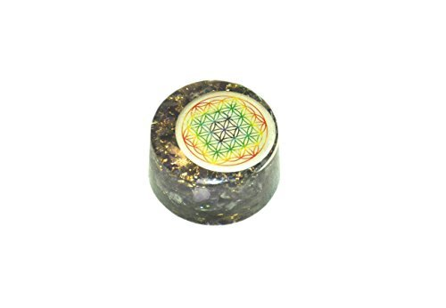 Amethyst Flower of Life Orgone Tower Buster Piezo Electric EMF Protection Generator Frequency Ions Tested Cloud Chem Buster A++ -  Jet International, Jet International 991