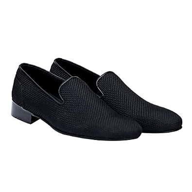Turk & Fillmore Black Loafers & Moccasian For Men
