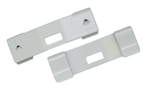15 Pack VERTICAL BLIND Vane Saver ~ White Curved Repair Clips ~ WHOLESALE PRICES ~ Fixes Broken Holes