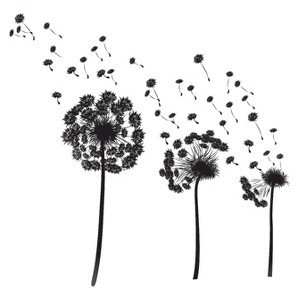 Cheap  Adhesive Wall Decals - Dandelion Breeze