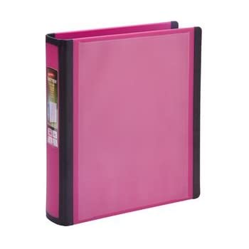 amazon com staples better mini binder 5 1 2 x 8 1 2 1 pink
