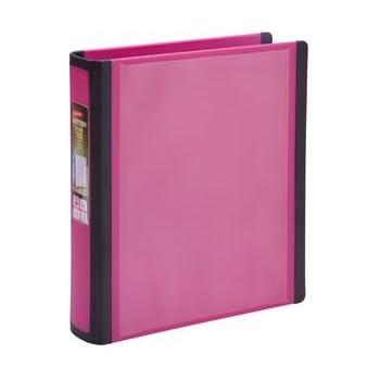 "Staples BETTER Mini Binder, 5-1/2"" x 8-1/2""  1"" (Pink)"