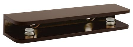 Oil Rubbed Bronze Rectangular Glass Shelf Bracket