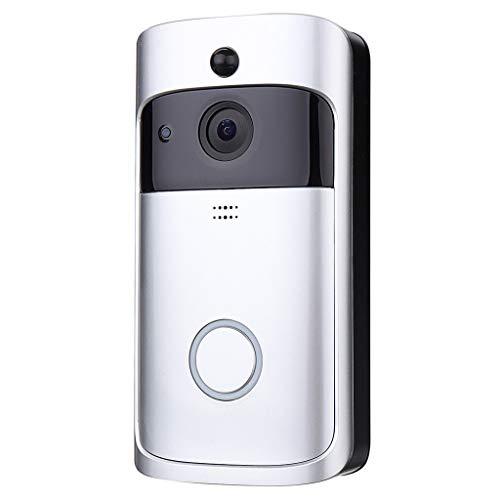 Ciyoon 2019 New WiFi Smart Video Doorbell Camera Wireless Door Bell 720P HD Wireless