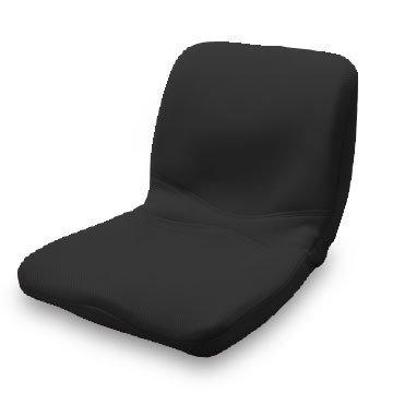 p!nto 正しい姿勢の習慣用座布団 クッション(pinto)ピント[black] B00EP6UK8M