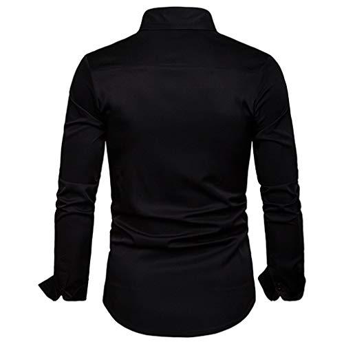 Pas Cher Chemise Coton shirt Longue T Top Bande Garçon A Homme Gilet Vest Blanche Manche À Ado Tee Noir2 Vetement Sweat La Mode Plaid C8ITtqP8