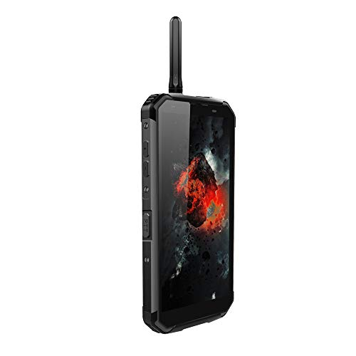 Blackview BV9500 Pro Smartphone, Full Netcom Walkie Talkie Interphone Wireless Fast Charge Android 8.1 Waterproof Dropproof Dustproof 10000mAh 6GB/128GB Dual Satellite Camera 13MP 16MP/0.3MP (Black) by LAIHUI (Image #2)