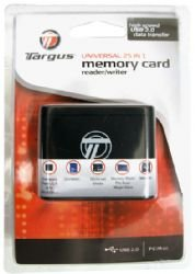 Targus 32-in-1 USB 2.0 Flash Memory Card Reader TGR-CRD25 by Merkury Innovations