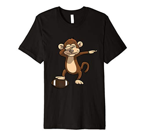 - Dabbing Football Monkey Dab Shirt