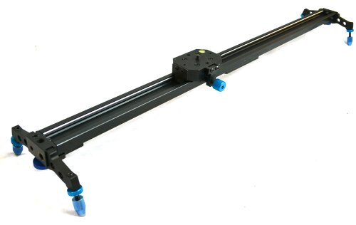 "StudioFX 40"" Pro Ball Bearing DSLR Camera Slider Dolly Track Video Stabilizer by Kaezi"