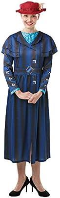 Rubies Disfraz oficial de Disney Mary Poppins de la película de ...