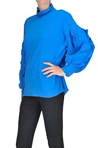 Bleu PEACOCK Blouse Soie MCGLTPC000004030I Femme BLUE CRRqp
