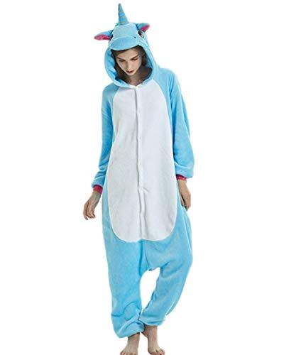 (QingLemon Adult Warm Animal Onesie Cute Teens Sleepwear Cosplay Pajamas Costume Homewear Lounge Wear (L,)