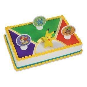 Amazon.com: Decopac Pokemon Light Up Pikachu Cake Kit ...