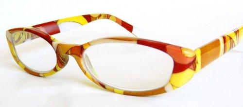 Foster Grant / Magnivision (+2.00) Multi-Color Reading Glasses with Case- ()