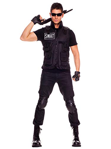 SWAT Brigade Commander Costume (One -