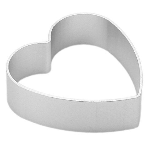 Joylive Aluminium Alloy Pastry Biscuit Cookie Cutter Baking Mould - Loving Heart Shaped ()