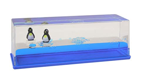 Curious Minds Busy Bags Large Penguins on a Wave - Moving Water - Sensory, Stress, Fidget Toy