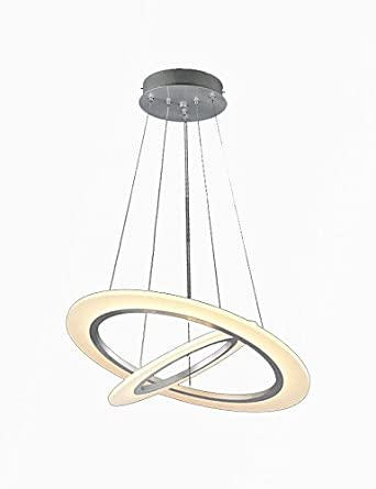 wyzq LED acrílico colgante luces techo para colgar lámparas ...