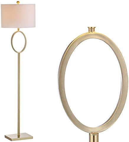 JONATHAN Y JYL1089A April 61″ Metal LED Floor Lamp Modern,Contemporary,Glam,Traditional