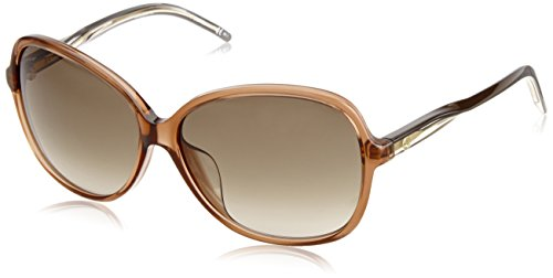 Gucci Women's Special Fit Glam Sunglasses, Brown/Brown Gradient, One - Gucci Sunglasses Less For