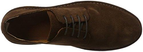 Bianco Sportliche Derby - Zapatos Derby Hombre Marrón (Dark Brown)