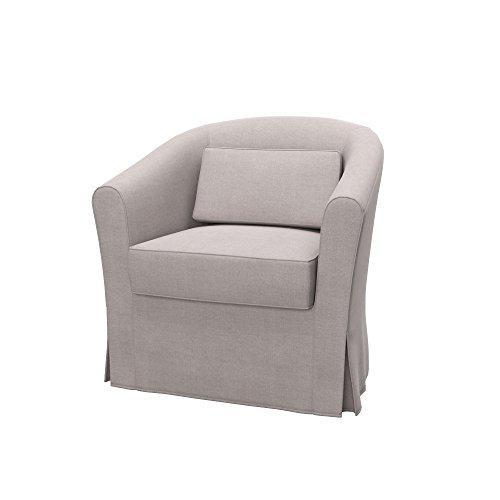 Soferia Elegance Black IKEA HENRIKSDAL Housse pour Chaise