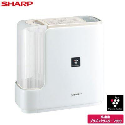 SHARP プラズマクラスター搭載 ハイブリッド式 加湿器 ベージュ系 HV-D70-C B00NGGCSMS
