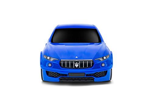 Ridaz Maserati Levante Carry-on Hand Luggage for kids, Blue Maserati ()