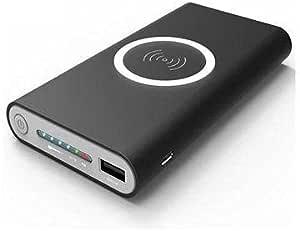 باور بانك 10000mAh Qi Wireless 2.1A لـ iphone8 8plus samsung S8 8PLUS NOTE8