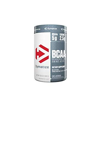 Dymatize BCAA Complex 5050 Powder, UltraPure/Unflavored, 10.6 Ounces