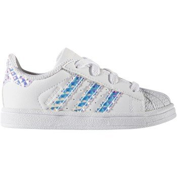 ADIDAS Infant Superstar 'Iridescent' CG3598 (5 ...