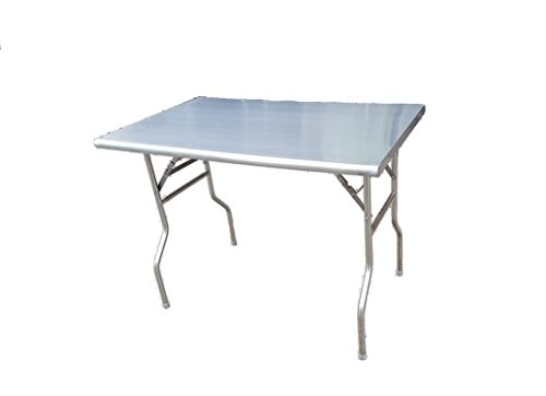 Stainless Folding Work Table 30 x 48 by LJ